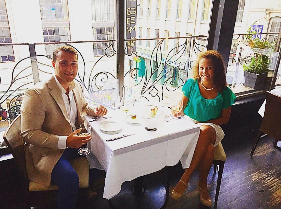 Cheers to Boston's cutest couple Xander Cannon & Olivia Goodson