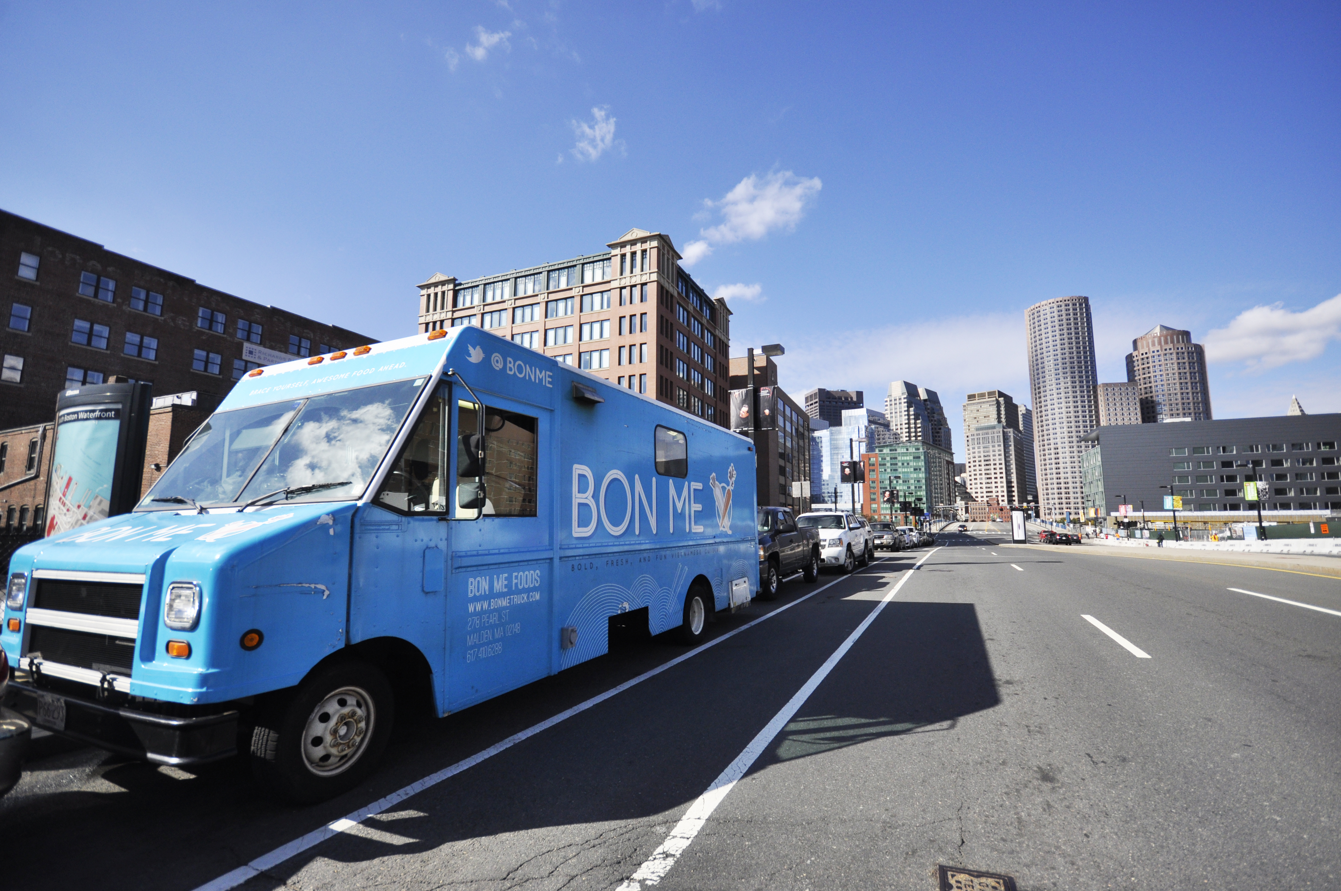 3- Truck blue
