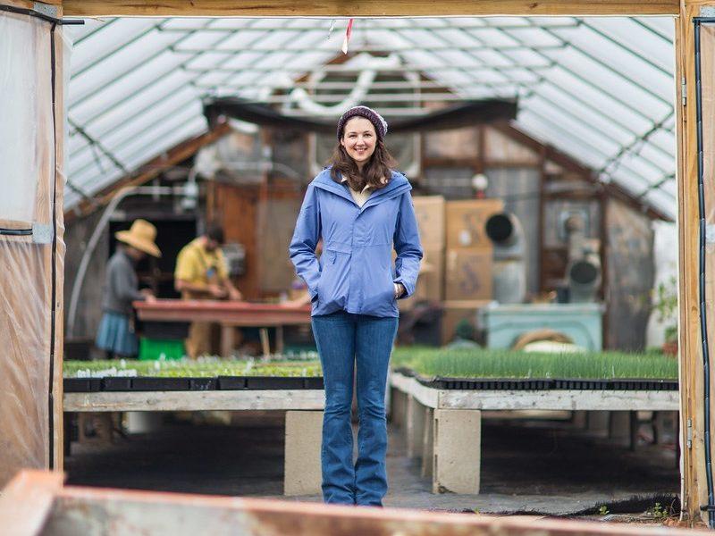 Meet Liza Bemis Of Hutchins Farm In Concord Boston Voyager Magazine Boston City Guide
