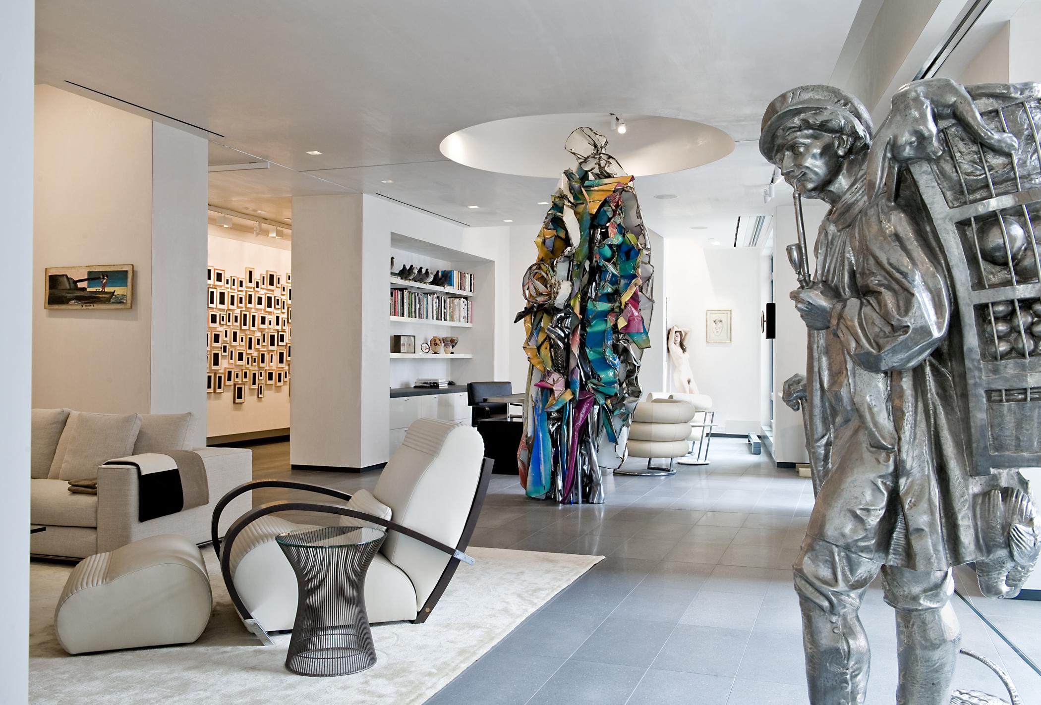 Fineberg Residence Mandarin Oiental Hotel Boston MA Interior Design Planeta Group